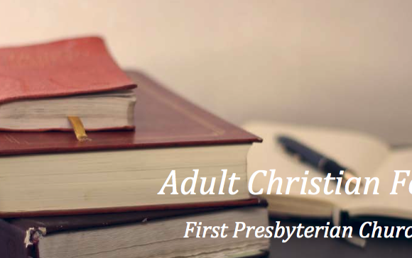 Adult Christian Formation Options